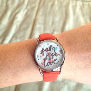 Accessories - NWOT Faith Hope and Love Watch